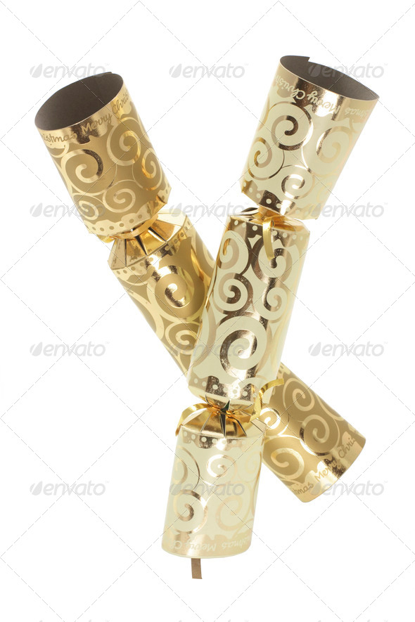 Christmas Crackers - Stock Photo - Images
