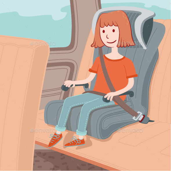 Child Safety Seat - Travel Conceptual