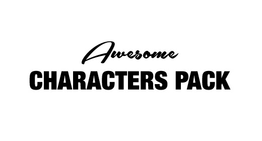 Awesome Characters Pack