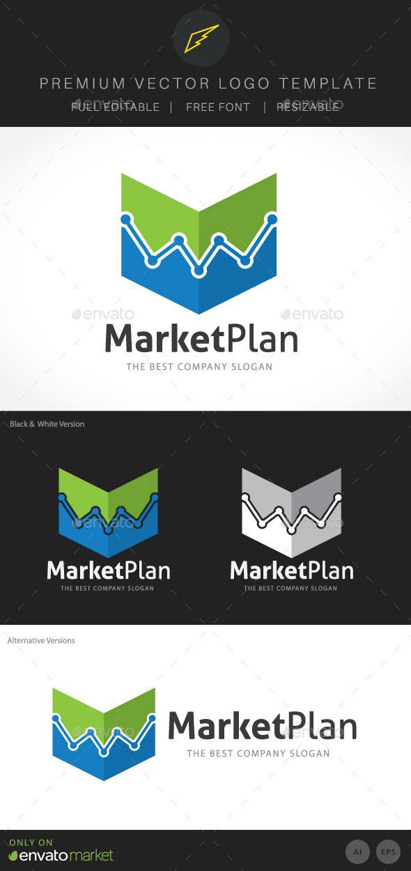 Marketing Plan - Symbols Logo Templates