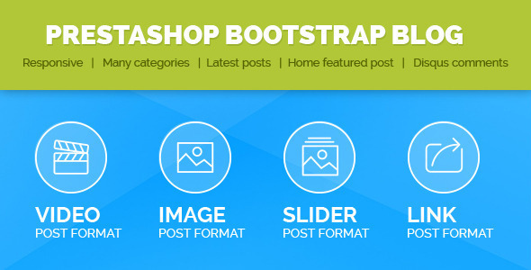 Prestashop Bootstrap  Blog  - CodeCanyon Item for Sale