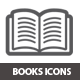 Book Icons - GraphicRiver Item for Sale