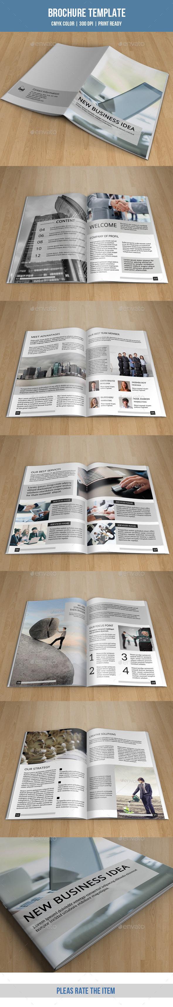 Minimal Bifold Brochure-V153 - Corporate Brochures