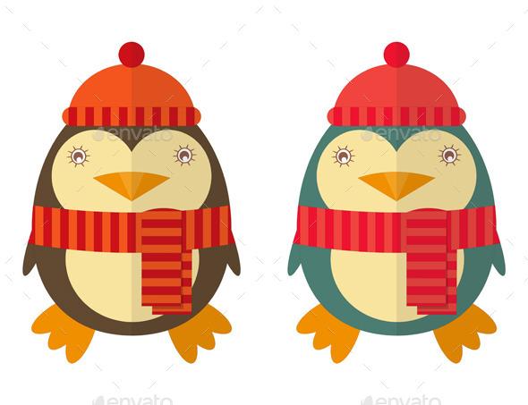Cartoon Penguin - Animals Characters