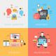 Digital Marketing Investments Web Design Online Banking Concept - GraphicRiver Item for Sale