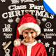 Christmas Class Party Flyer Template