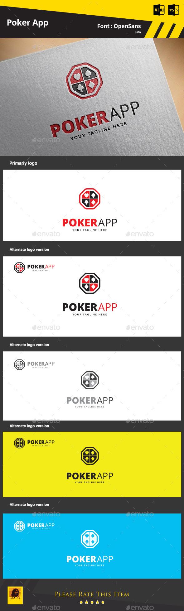 Poker App Logo Template - Symbols Logo Templates