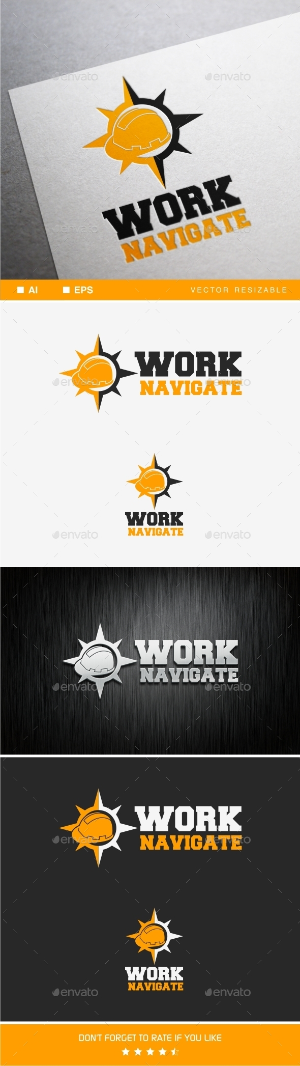 Work Navigator - Objects Logo Templates