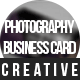Creative Photography Business Card - GraphicRiver Item for Sale