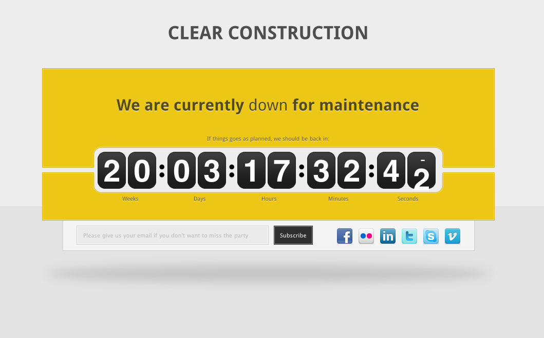 Free Download Clear Construction Nulled Latest Version
