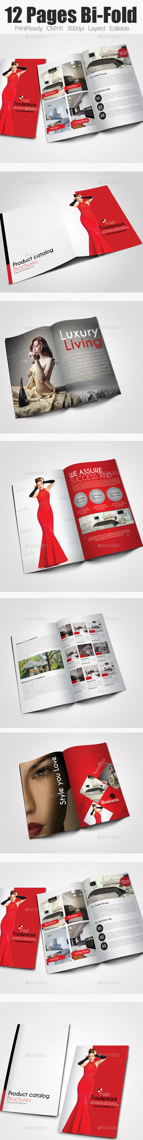 Bi Fold Business Catalog - Catalogs Brochures