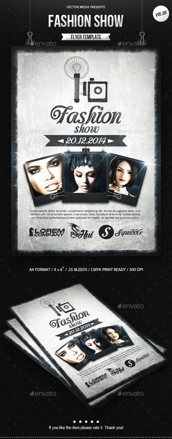 Fashion Show - Flyer [Vol.05] - Miscellaneous Events