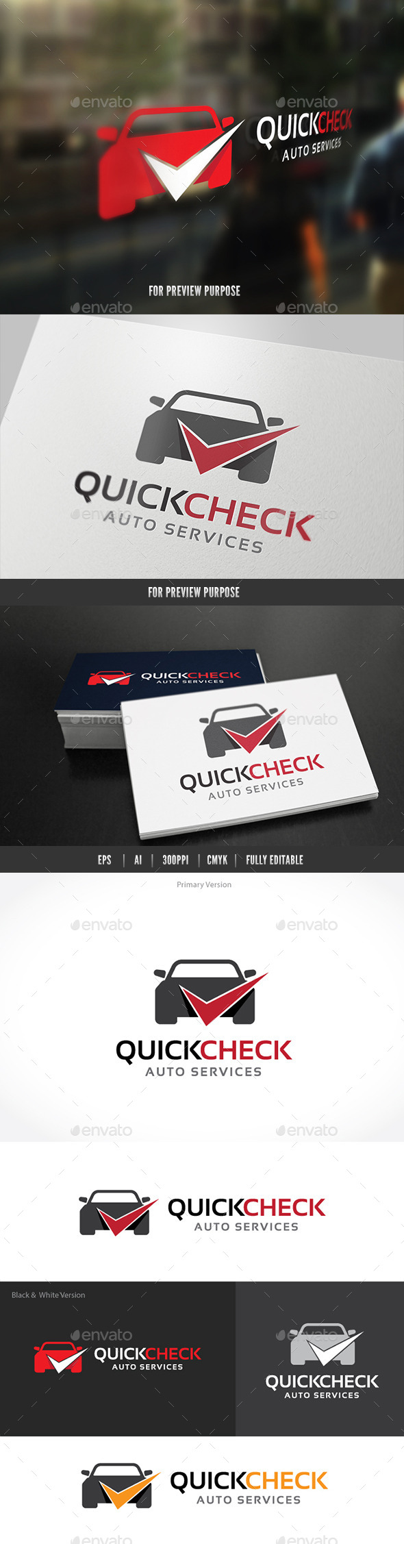 Auto Car Services - Objects Logo Templates
