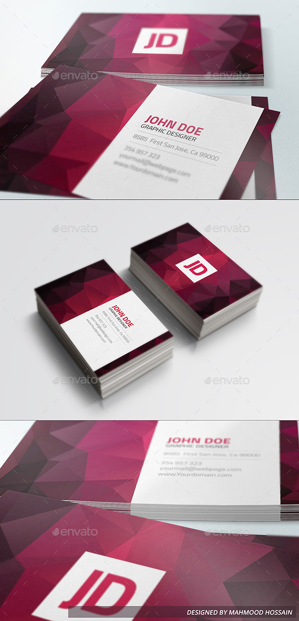 Elegant Business Card vol.01 - Creative Business Cards