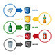 Recycling Bins Infographics - GraphicRiver Item for Sale