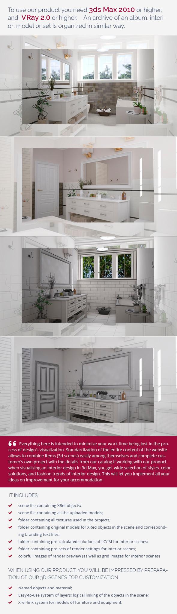 Bathroom 0376 - 3DOcean Item for Sale