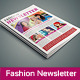 InDesign Fashion Newsletter - GraphicRiver Item for Sale