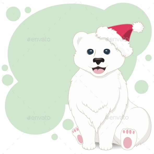 Bear Illustration - New Year Seasons/Holidays