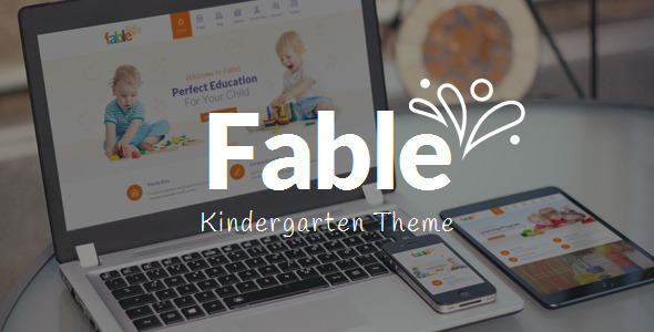 Fable – Children Kindergarten WordPress Theme