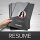 Resume Booklet Design (InDesign) v2 - GraphicRiver Item for Sale