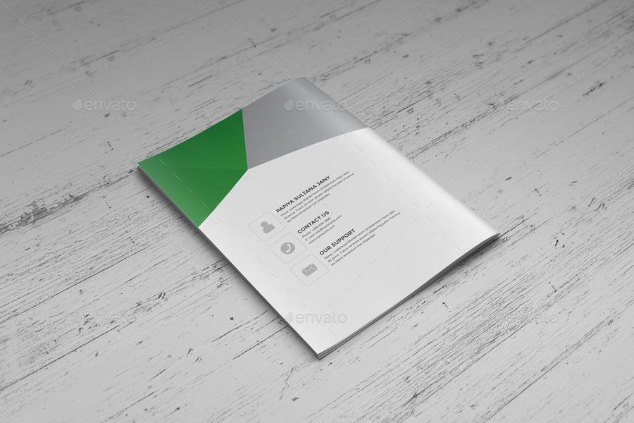 Resume Booklet Design (InDesign) v2 by JanySultana | GraphicRiver