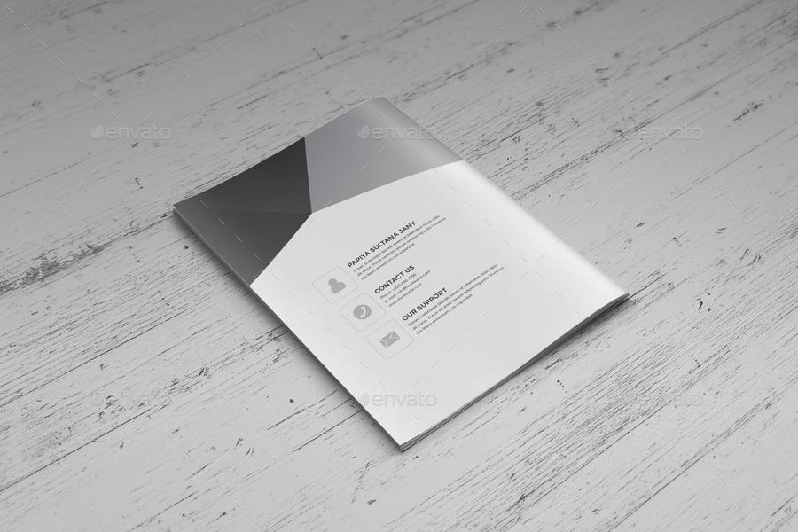 resume booklet design  indesign  v2 by janysultana