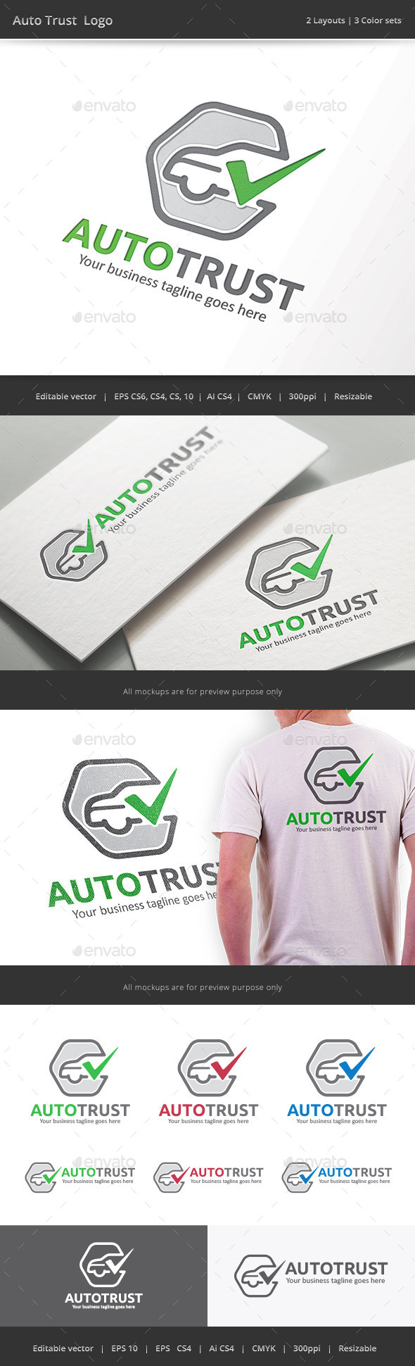 Auto Trust Car Check Logo
