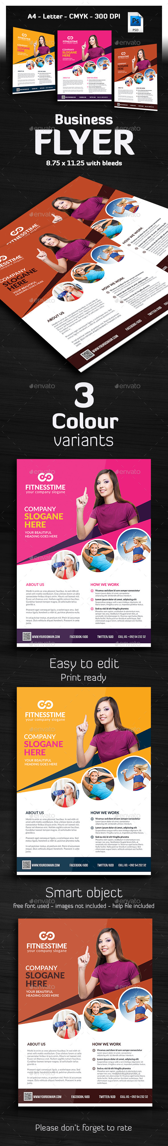 Ivato Multipurpose Business Flyer - Corporate Flyers