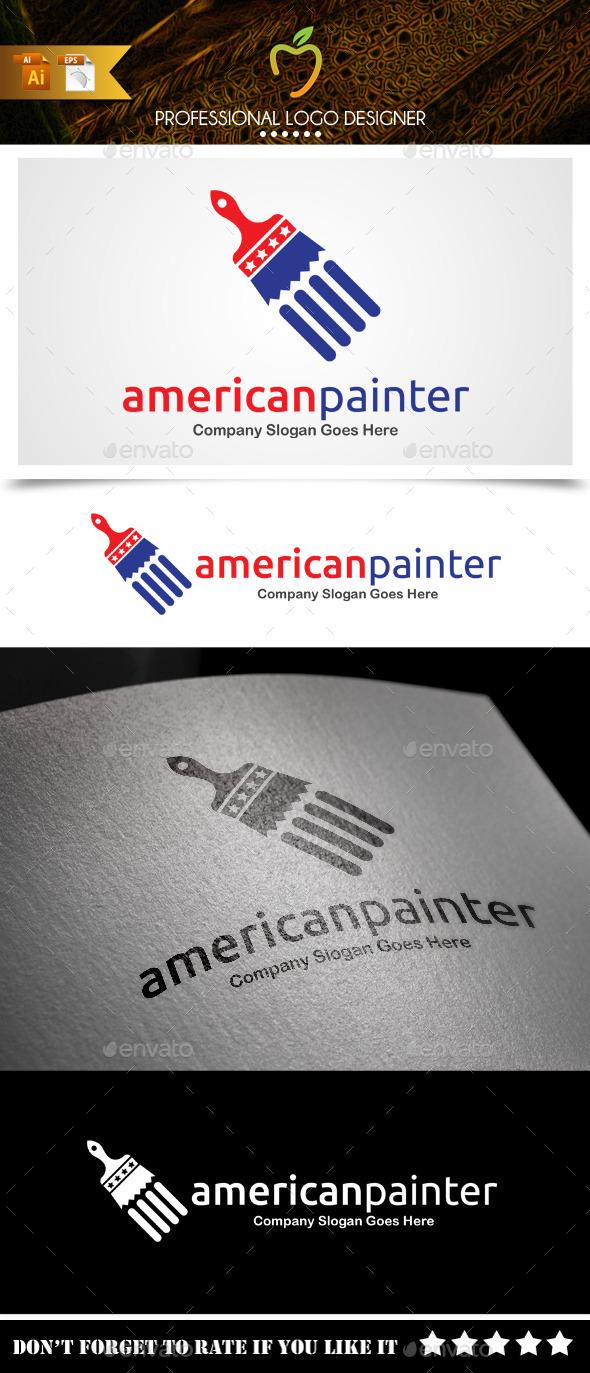American Painter Logo - Symbols Logo Templates