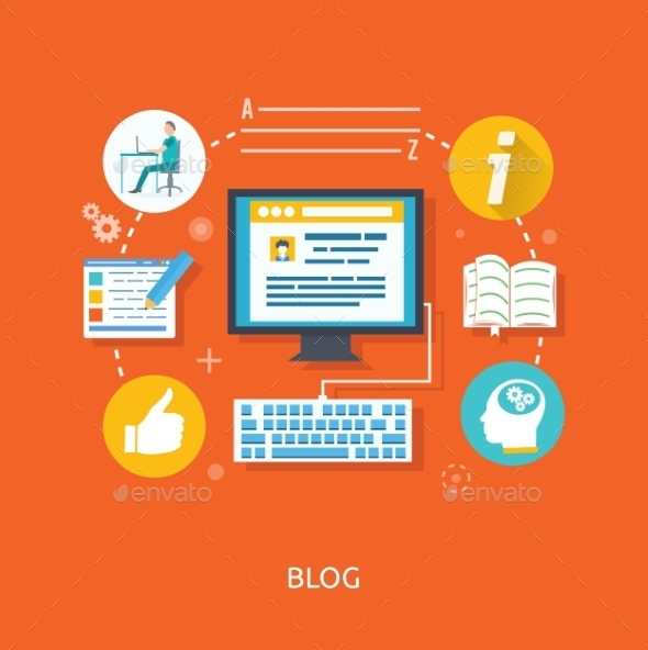 Blogging Concept - Web Technology