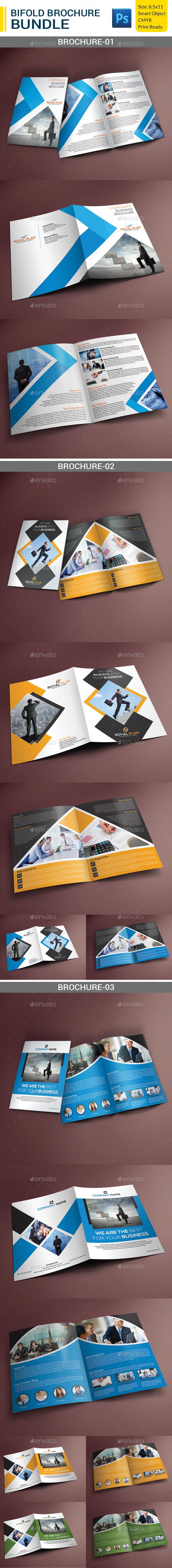 Corporate Bifold Brochure Bundle - Corporate Brochures