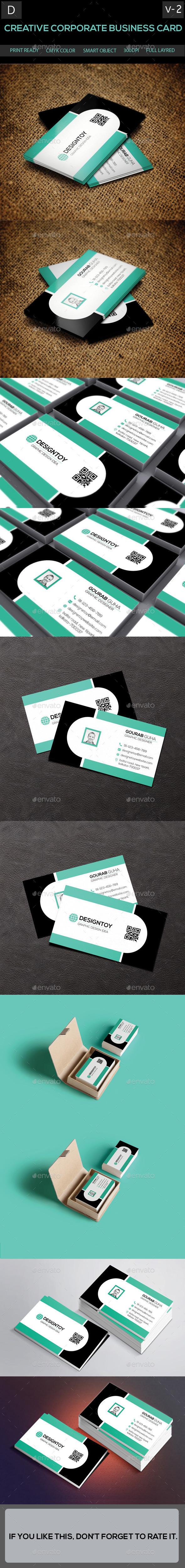 Creative Corporate Business Card [Volume-2] - Corporate Business Cards