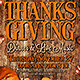 Thanksgiving Dinner and Party Poster - GraphicRiver Item for Sale