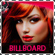 Hair Salon Fashion Style Billboard Signage - GraphicRiver Item for Sale