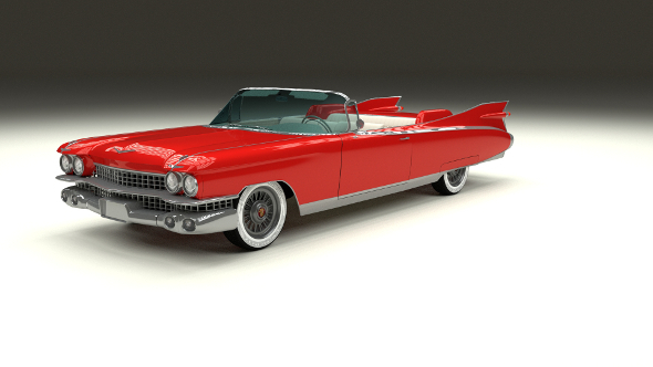 1959 Cadillac Eldorado Biarritz - 3DOcean Item for Sale