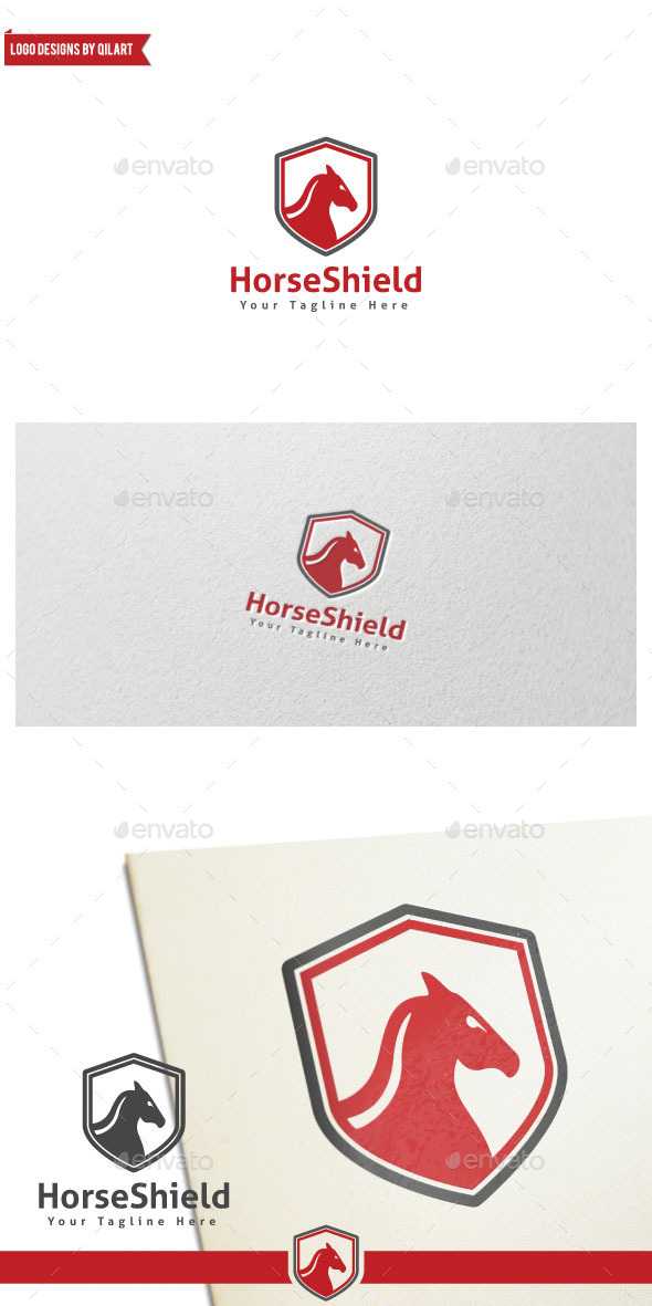 HorseShield - Animals Logo Templates