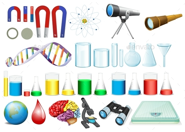 Science Set - Man-made Objects Objects