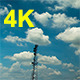 Cloud and Communication Tower - VideoHive Item for Sale