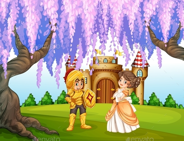 Knight and Princess - People Characters