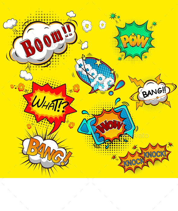 Comic Speech Bubbles - Miscellaneous Seasons/Holidays