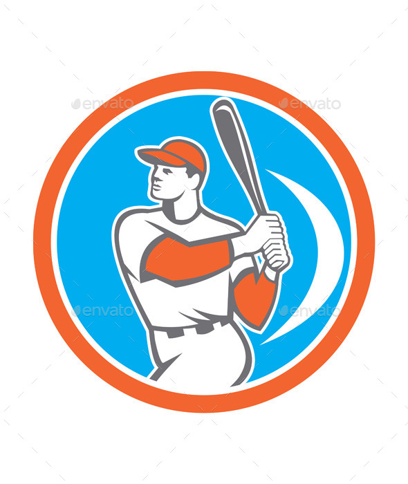 Baseball Batter Circle  - Sports/Activity Conceptual
