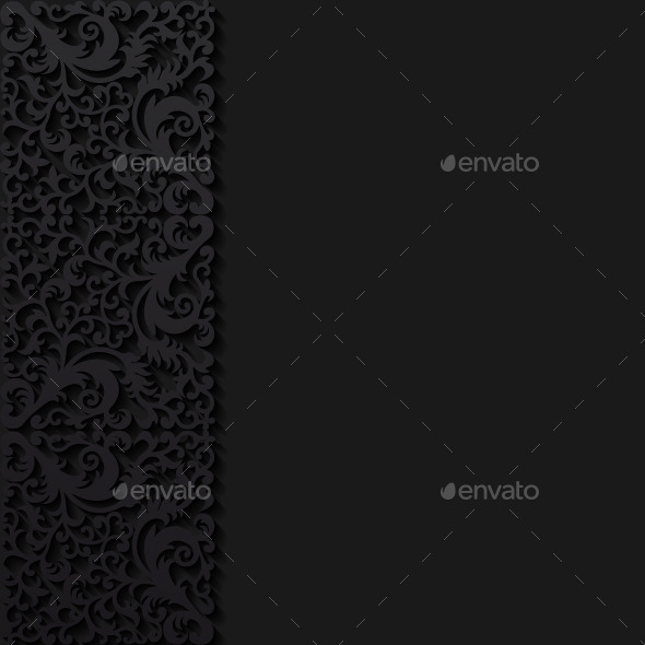Abstract Background with Floral Pattern - Backgrounds Decorative