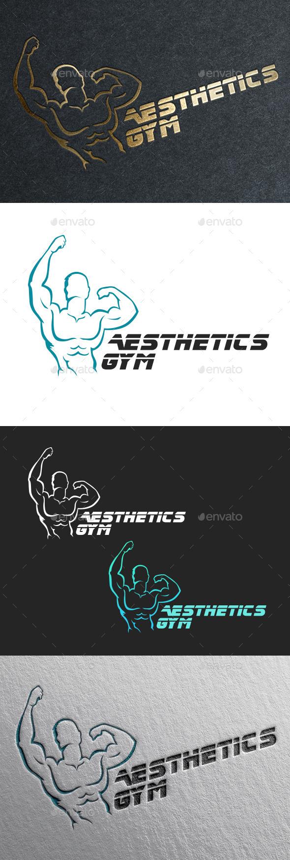 Fitness Gym Logo - Humans Logo Templates