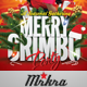 Merry Crimbo Christmas Flyer Template - GraphicRiver Item for Sale