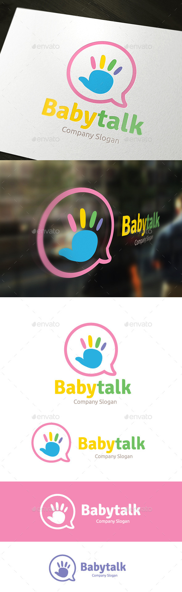 Baby Talk - Humans Logo Templates