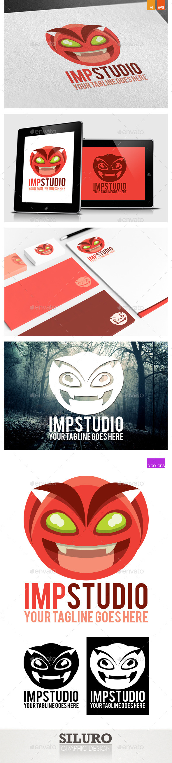 Imp Logo - Humans Logo Templates