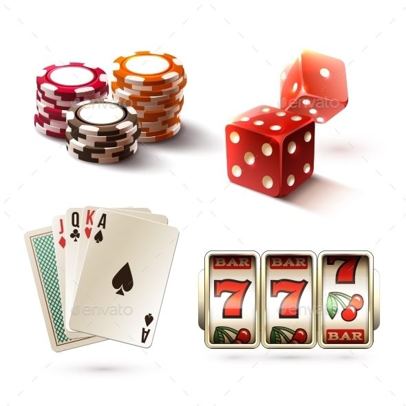 Casino Design Elements - Sports/Activity Conceptual