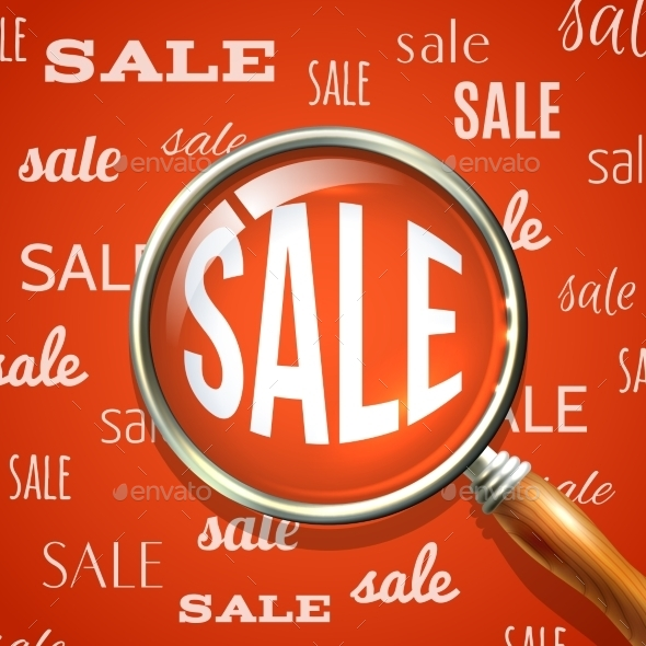 Magnifier and Sale - Retail Commercial / Shopping