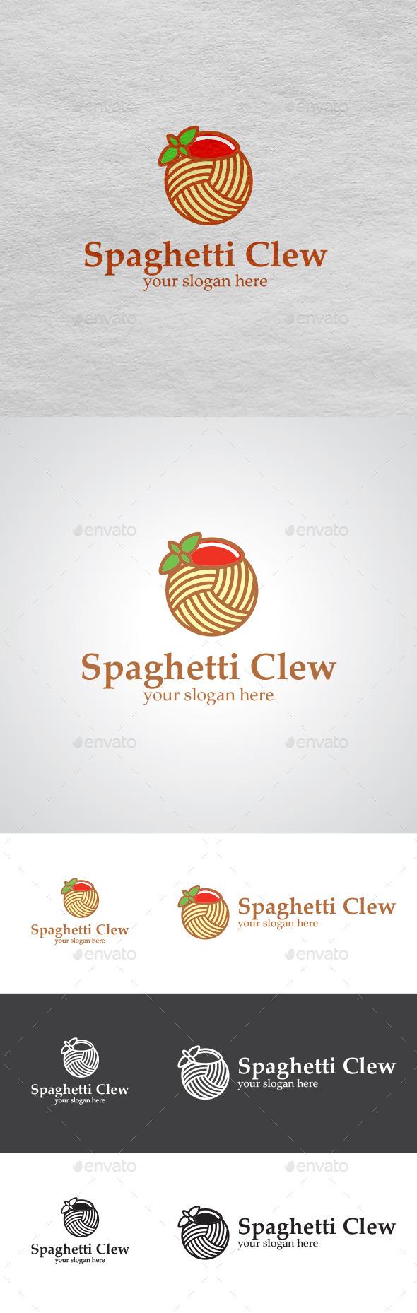 Spaghetti Logo  - Food Logo Templates