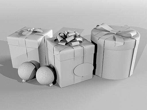 Gift Boxes Christmas present